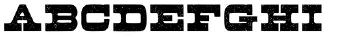 Buckboard Pro Font UPPERCASE