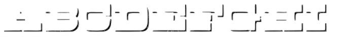 Buckboard Shadow Pro Font UPPERCASE