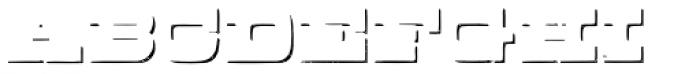 Buckboard Shadow Pro Font LOWERCASE