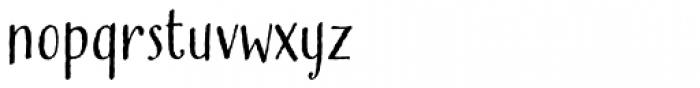 Buckley Font LOWERCASE