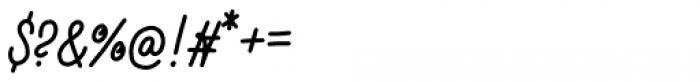Buckwheat TC Script Regular Font OTHER CHARS