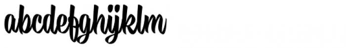 Buddies Regular Font LOWERCASE