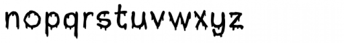 Buddy Suit Font LOWERCASE