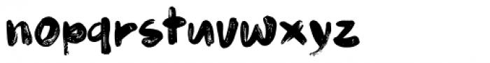 Budskab Font LOWERCASE