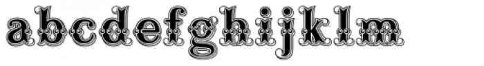 Buffalo Bill Font LOWERCASE