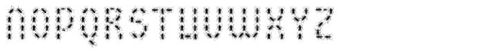 BuggyFont Font UPPERCASE