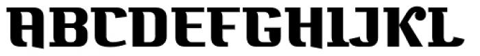 Bugis Black Font UPPERCASE