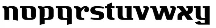 Bugis Black Font LOWERCASE