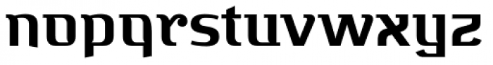 Bugis Bold Font LOWERCASE