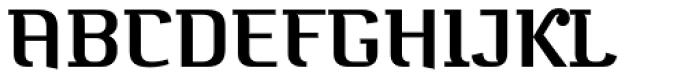 Bugis Medium Font UPPERCASE