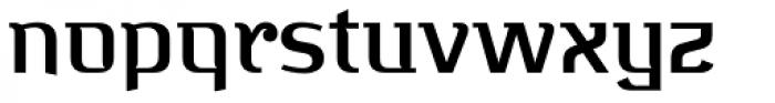 Bugis Medium Font LOWERCASE