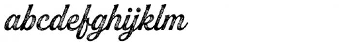 Buinton Rough Three Font LOWERCASE