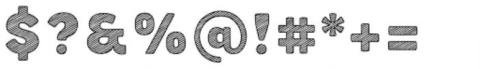 Buket Fat Sketch1 Font OTHER CHARS