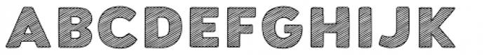 Buket Fat Sketch1 Font UPPERCASE