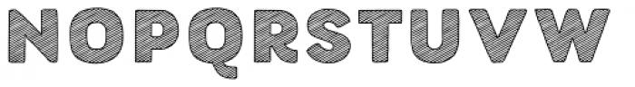 Buket Fat Sketch1 Font LOWERCASE