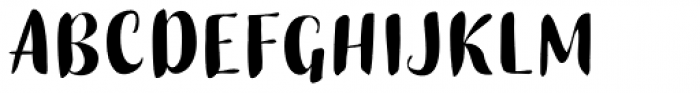 Buket Script Sans Font UPPERCASE