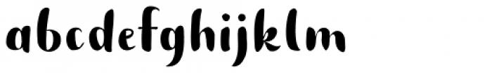 Buket Script Sans Font LOWERCASE