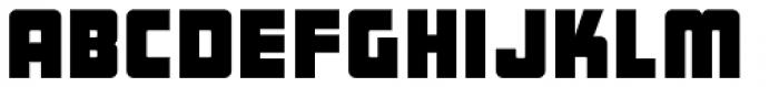 Bulk Weight JNL Font LOWERCASE