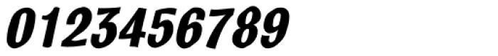 Bulldog Crazed Bold Tilt Font OTHER CHARS