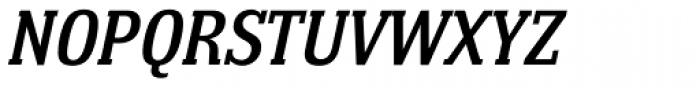 Bulldog Hunter Medium Std Italic Font UPPERCASE