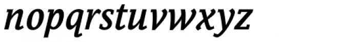 Bulldog Hunter Medium Std Italic Font LOWERCASE