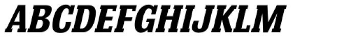 Bulldog Hunter Std Bold Italic Font UPPERCASE