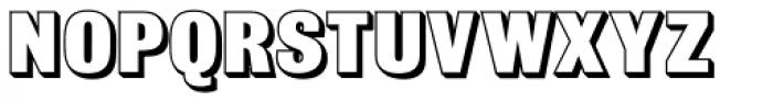 Bulldog Shadow ExtraBold Font UPPERCASE