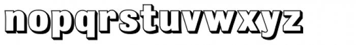 Bulldog Shadow ExtraBold Font LOWERCASE