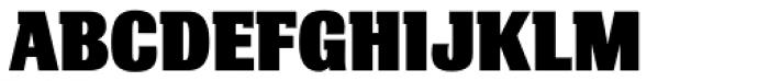 Bulldog Slab Black Font UPPERCASE