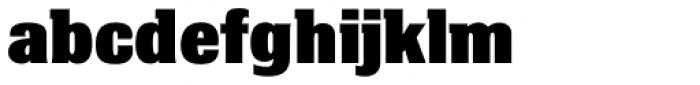 Bulldog Slab Black Font LOWERCASE