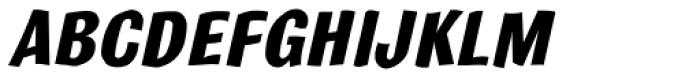 Bulldog Std Crazed Bold Tilt Font UPPERCASE