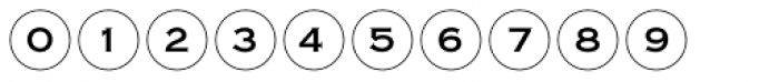 Bullet Numbers Copperplate Pos Font OTHER CHARS