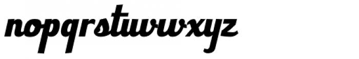 Bulletto Alto Font LOWERCASE