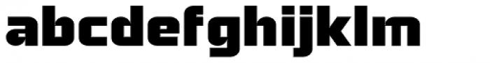 Bullish Bold Lower Case Font LOWERCASE