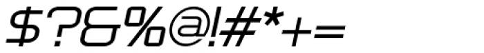 Bullish Light Lower Case Oblique Font OTHER CHARS