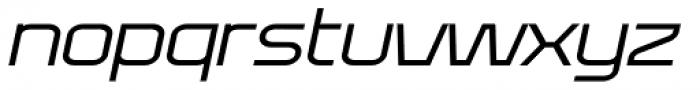 Bullish Light Lower Case Oblique Font LOWERCASE