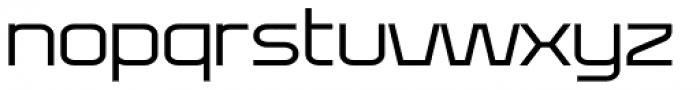 Bullish Light Lower Case Font LOWERCASE