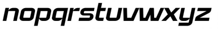 Bullish Medium Lower Case Oblique Font LOWERCASE