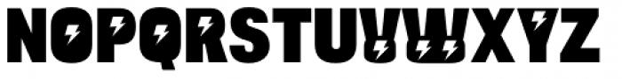 Bulltoad Zap Font UPPERCASE