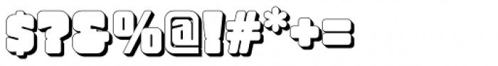 Bully Pulpit NF Font OTHER CHARS