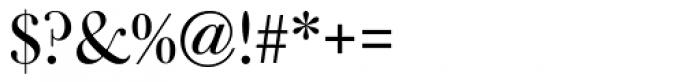 Bulmer MT Display Regular Font OTHER CHARS