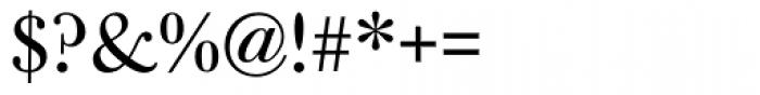 Bulmer MT Regular Font OTHER CHARS