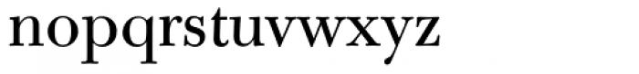 Bulmer MT Regular Font LOWERCASE