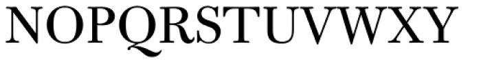 Bulmer MT Std Font UPPERCASE