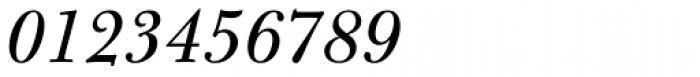 Bulmer Pro Italic Font OTHER CHARS