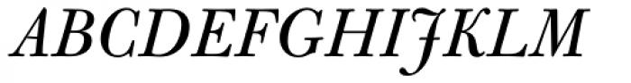 Bulmer Pro Italic Font UPPERCASE