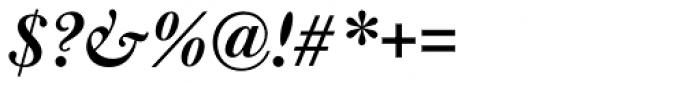 Bulmer Std SemiBold Italic Font OTHER CHARS