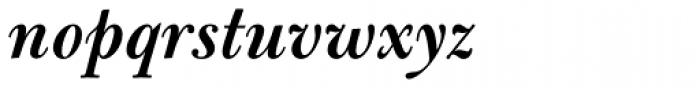 Bulmer Std SemiBold Italic Font LOWERCASE