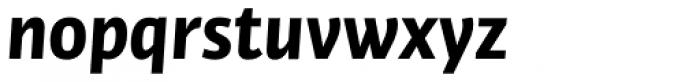 Bulo Bold Italic Font LOWERCASE