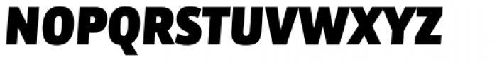 Bulo ExtraBlack Italic Font UPPERCASE